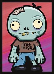 Legion Supplies - Zombie Hugs Протекторы матовые 50 штук