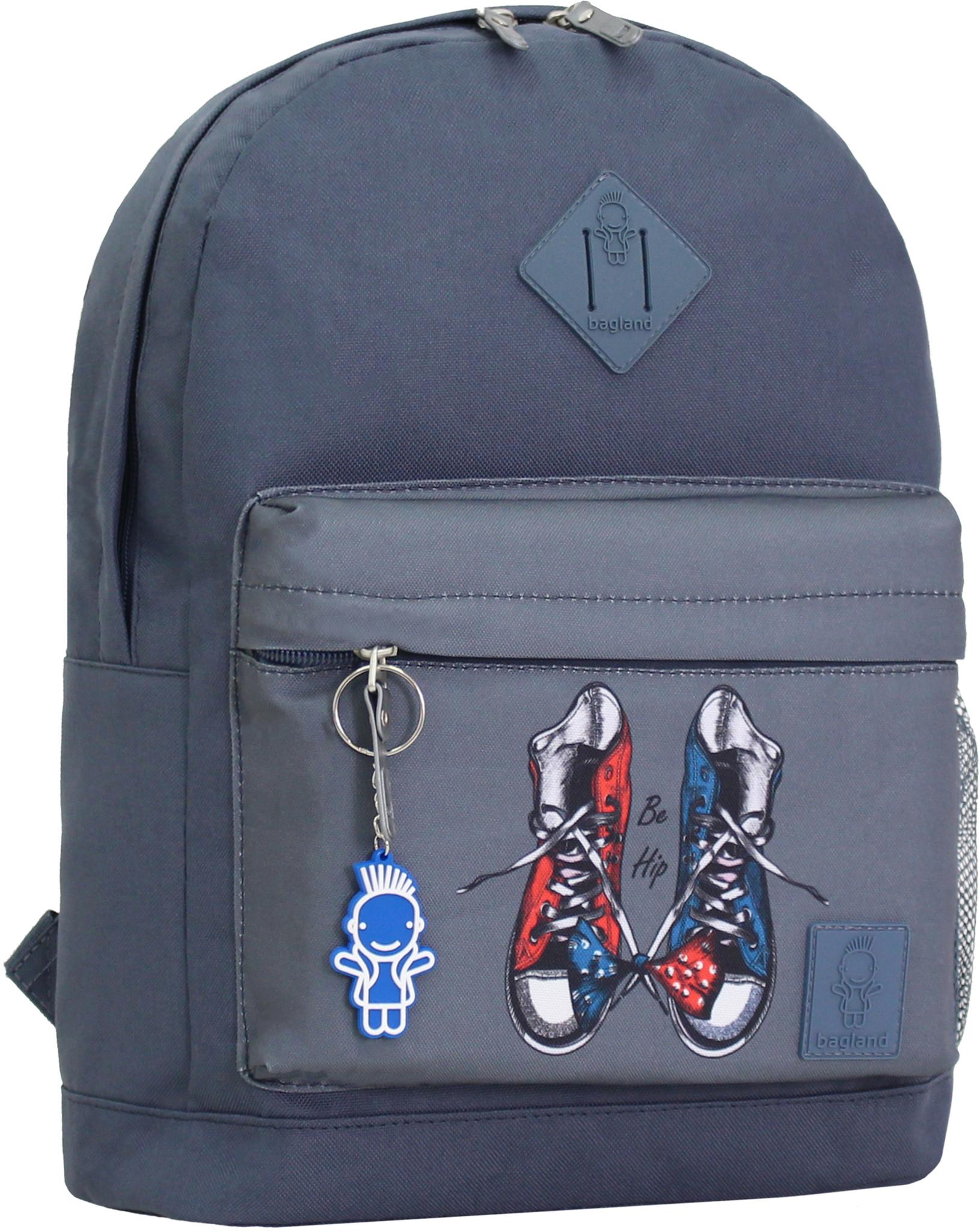 Городские рюкзаки Рюкзак Bagland Молодежный W/R 17 л. серый 254к (00533662) IMG_0866_254к.JPG