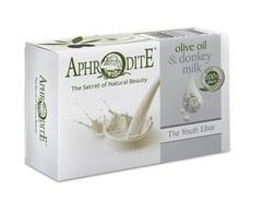Мыло оливковое с молоком ослиц Aphrodite 100 гр
