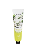 Крем для рук парфюмированный DEOPROCE FRESH GREENTEA PERFUMED HAND CREAM 50g