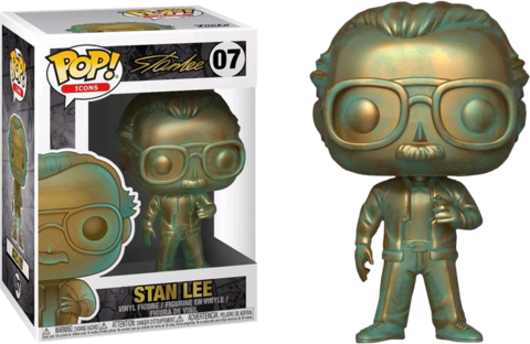 Фигурка Funko Pop! Icons - Stan Lee