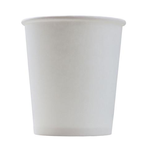 Стакан одноразовый Формация бумажный белый 100 мл 60 штук в упаковке