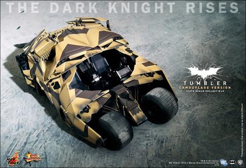 The Dark Knight Rises - Tumbler (Camouflage Version)