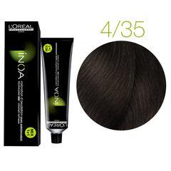 L'Oreal Professionnel INOA 4.35 (Шатен золотистый красное дерево) - Краска для волос