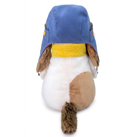 Пес Бартоломей в шлеме