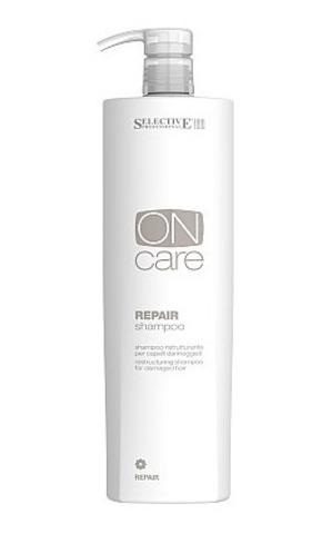 Восстанавливающий шампунь для поврежденных волос, Selective, 1000мл.