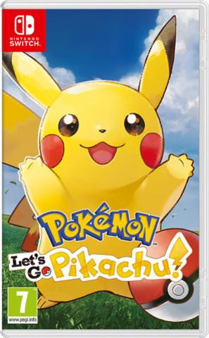 NS: Pokémon: Let's Go, Pikachu! (n) (английская версия)