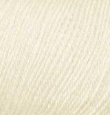 Пряжа Alize Baby Wool кремовый 01