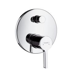 Смеситель для ванны встроенный Hansgrohe Metris S,  31465000