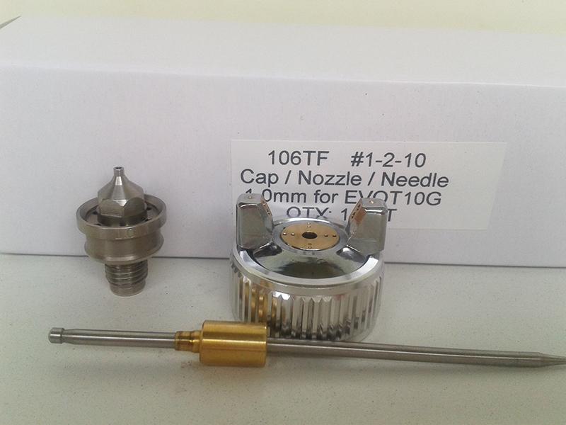 Сменный комплект для краскопульта STAR EVO-T 106TFG