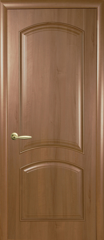 Дверь Антре ДГ (золотая ольха, глухая ПВХ), фабрика Новый Стиль