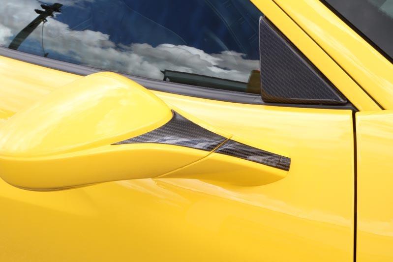 Карбоновые накладки на зеркала Novitec Style для Ferrari 488 GTB