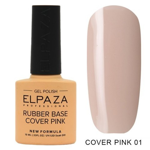 Elpaza Rubber Base Cover Pink, 01