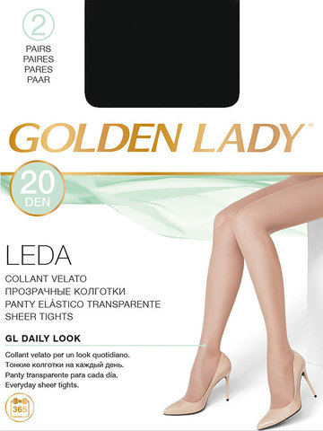 Колготки Leda 20 Golden Lady