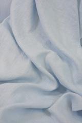 Лен смягченный, цвет светло-голубой