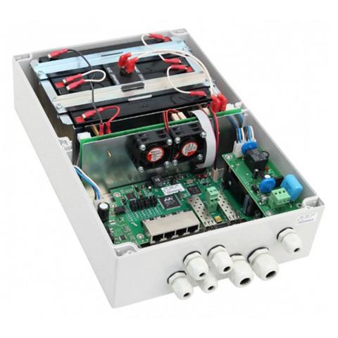 Гигабитный управляемый уличный коммутатор на 4 PoE порта TFortis PSW-2G 4F UPS