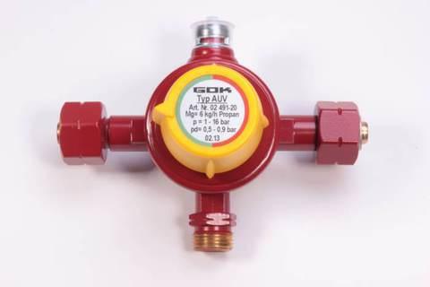 Автоматический клапан GOK (стандарт) 6кг/ч для газобаллонных систем
