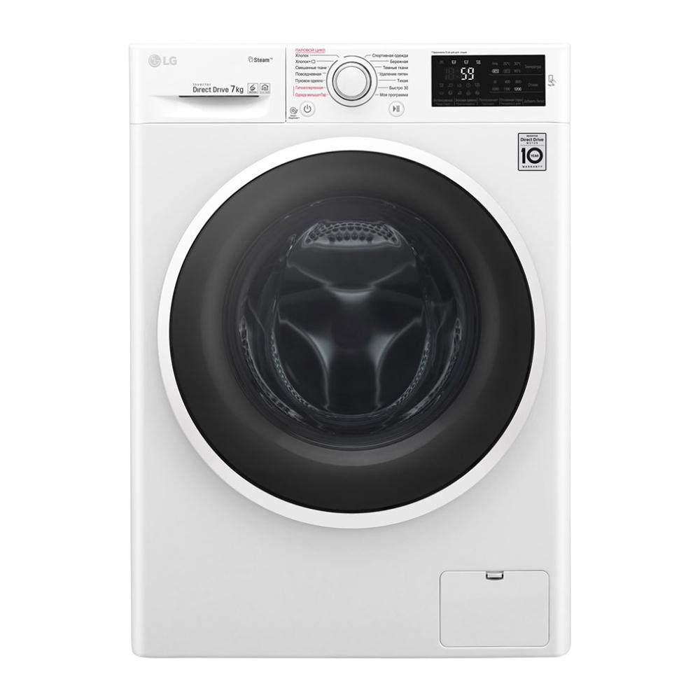 Узкая стиральная машина LG с функцией пара Steam F2J6HS0W фото