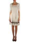 Платье из вискозы и полиамида D'EXTERIOR