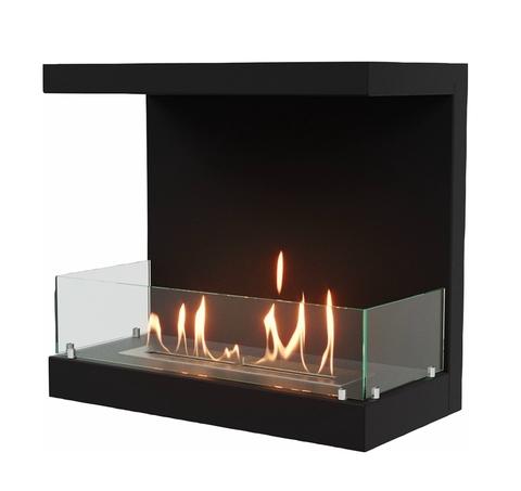 Торцевой биокамин Lux Fire Фронтальный 700 M