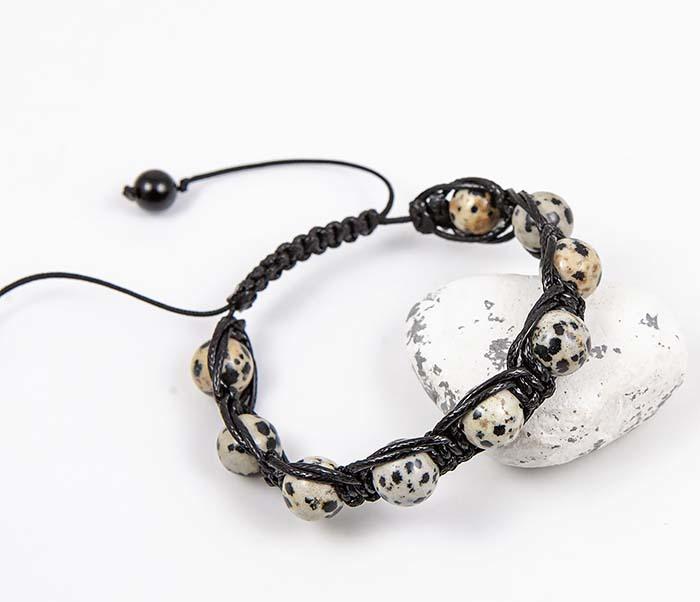 Boroda Design, Браслет шамбала ручной работы из яшмы