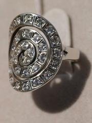 Торсия (кольцо из серебра)