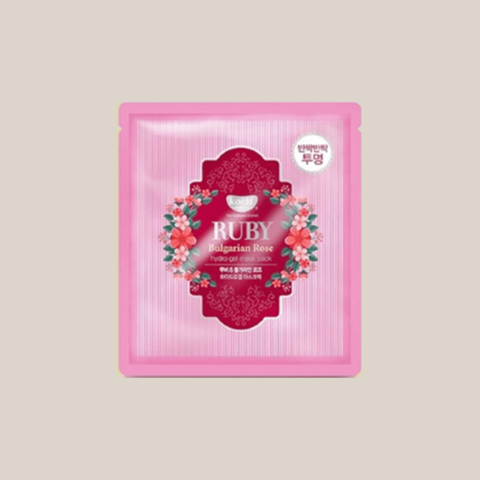 Маска для лица гидрогелевая с розой Koelf Bulgarian Rose Hydrogel Mask Pack