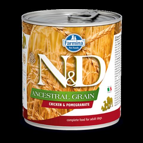 Farmina Dog Ancestral Grain Chicken & Pomegranate Консервы для собак Низкозерновые с Курицей и гранатом