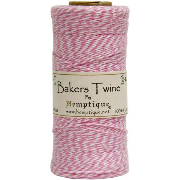 Шпагат Bakers Twine розовый