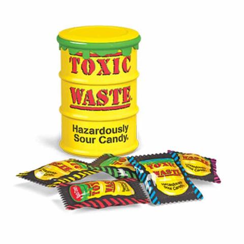 Кислые конфеты Toxic Waste (Токсик Вейст) 42 гр.