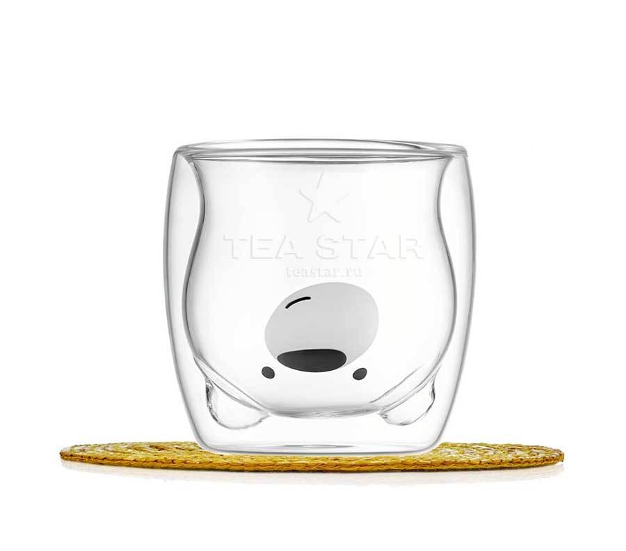 "Все товары Стакан с двойными стенками, стеклянный в форме медведя ""Мишка"", 250 мл. stakan_mishka2_200ml-teastar.jpg"