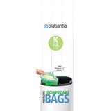 Пакет пластиковый биоразлагаемый, К (10 л), 10 шт., артикул 364983, производитель - Brabantia