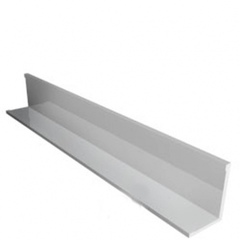 ЛЮМСВЕТ Уголок периметральный 24х19мм белый сталь (3м)