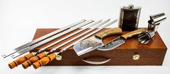 Шашлычный набор Гусарский №5, Кизляр СТО, фото 5