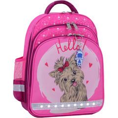 Рюкзак школьный Bagland Mouse 143 малиновый 167к (0051370)