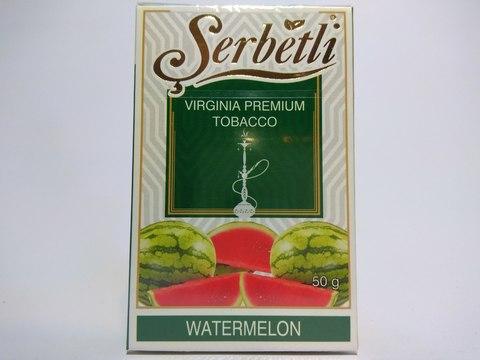 Табак для кальяна SERBETLI Watermelon 50gr