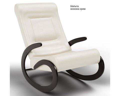 Кресло-качалка Мальта (Модель 1) экокожа