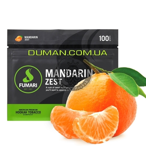 Табак Fumari Mandarin Zest (Фумари Мандарин) | На вес 25г