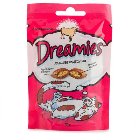 Корм для кошек DREAMIES с  говядиной 30г