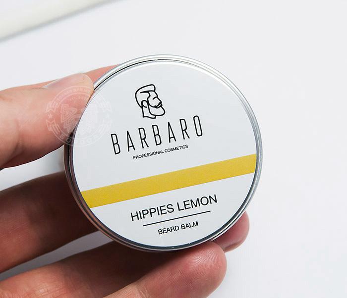 RAZ1001 Бальзам для бороды Barbaro «Hippies lemon», 30 мл фото 04