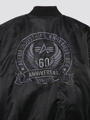 куртка Alpha Industries MA-1 60th Anniversary Flight Jacket Black