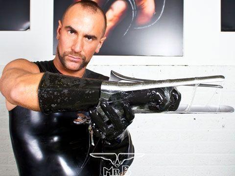 Резиновые перчатки Thick Industrial Rubber Gloves - Mister B