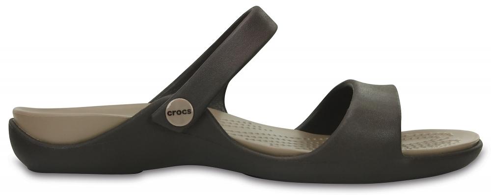 Сандалии Crocs Cleo V Sandal W Espresso/Mushroom