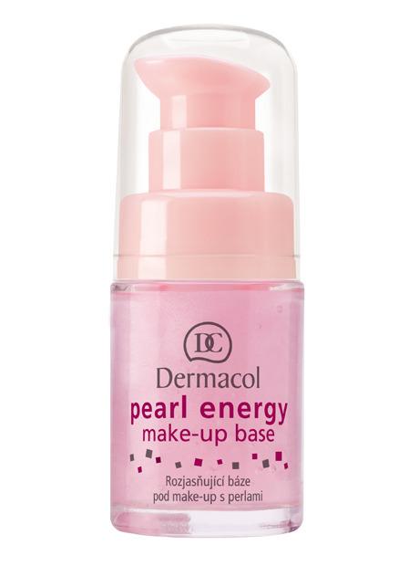 Dermacol Pearl Energy Make-Up Base Разглаживающая база под макияж с экстрактом жемчуга и розовым пигментом, 15 мл