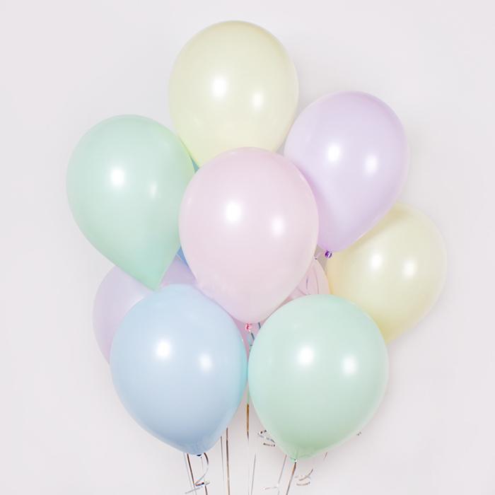Купить воздушные шары с гелием Пастель в Перми