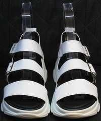Женские спортивные босоножки Evromoda 3078-107 Sport White
