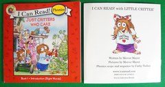 Я могу читать! I can read with  little critter. Phonics. Комплект из 12 книг