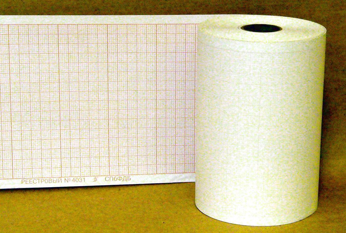 90х50х18, бумага ЭКГ для ЭК2T, MAC500, реестр 4031