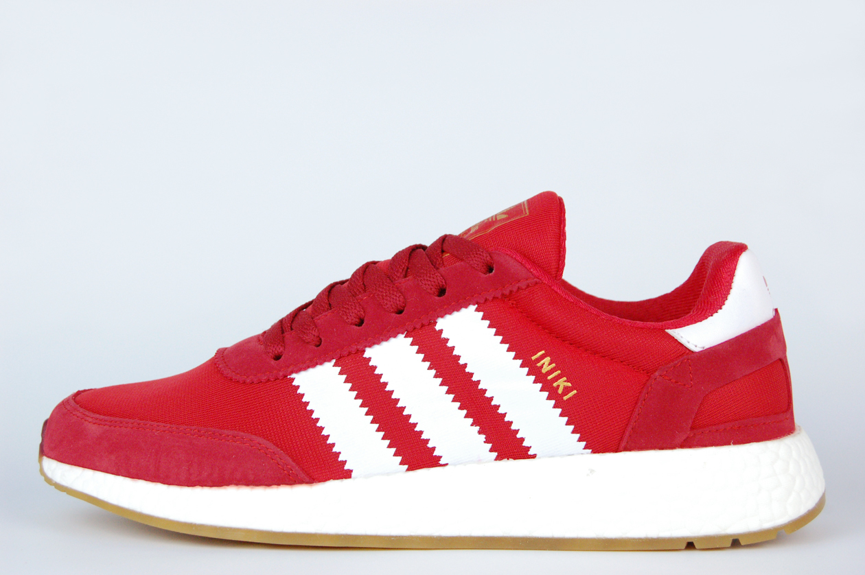 кроссовки Adidas Iniki Runner Boost Red / White