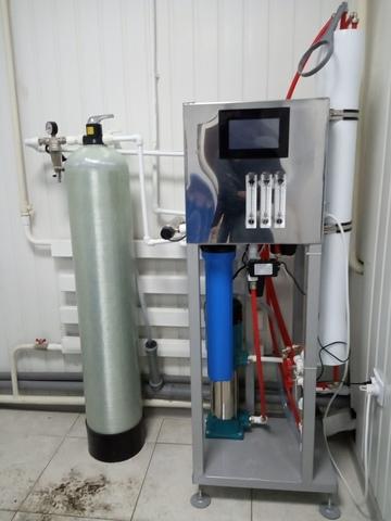 водоподготовка 6500 литров в сутки